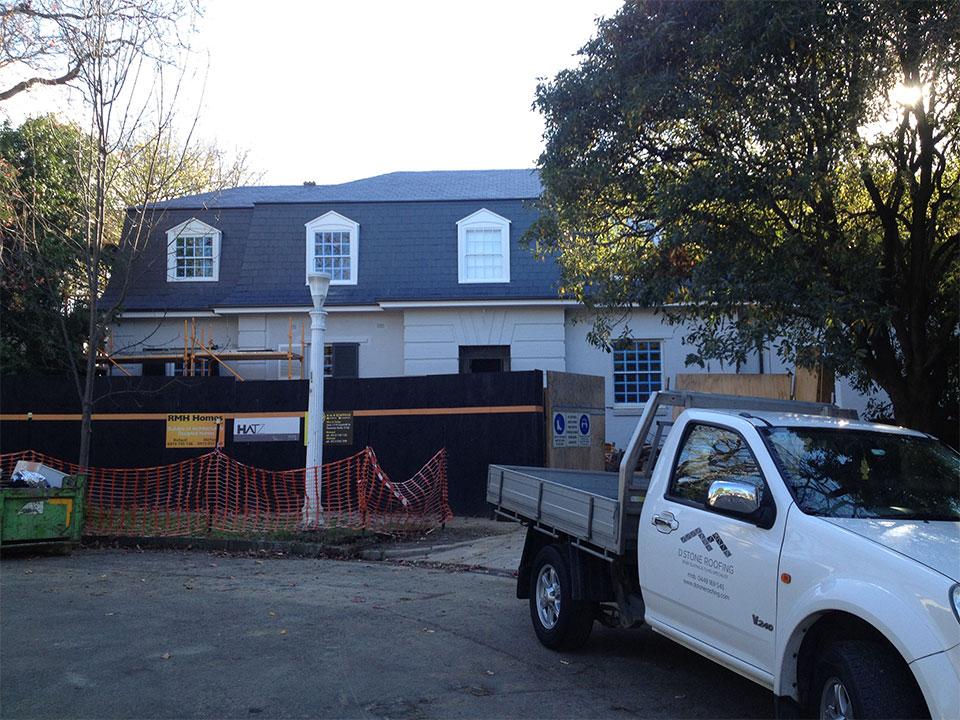 New Slate Roofs